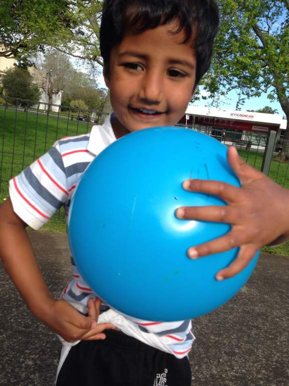 Chaitanya: Took my son to Rocket Park, Mt Ablert, Auckland, New Zealand.