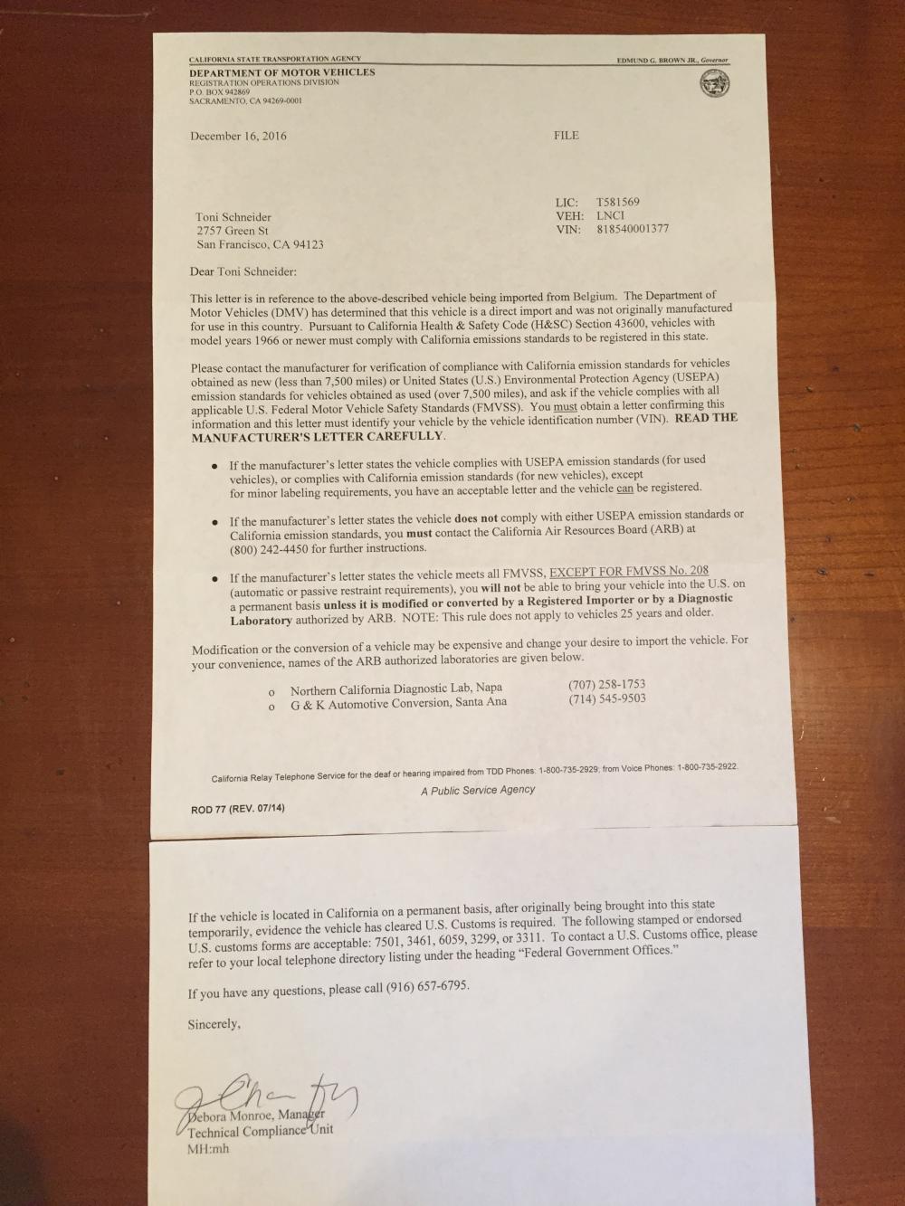 lancia-sacramento-letter